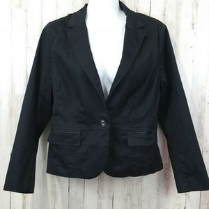 Ny&Co 7th Ave Design Studio Womens Jacket 14 Black
